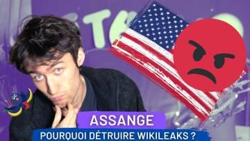 Voilà pourquoi ils ont voulu détruire Wikileaks | #freeAssange 4/5