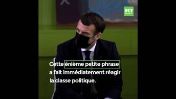 «66 millions de procureurs», Macron plaide le droit à l'erreur