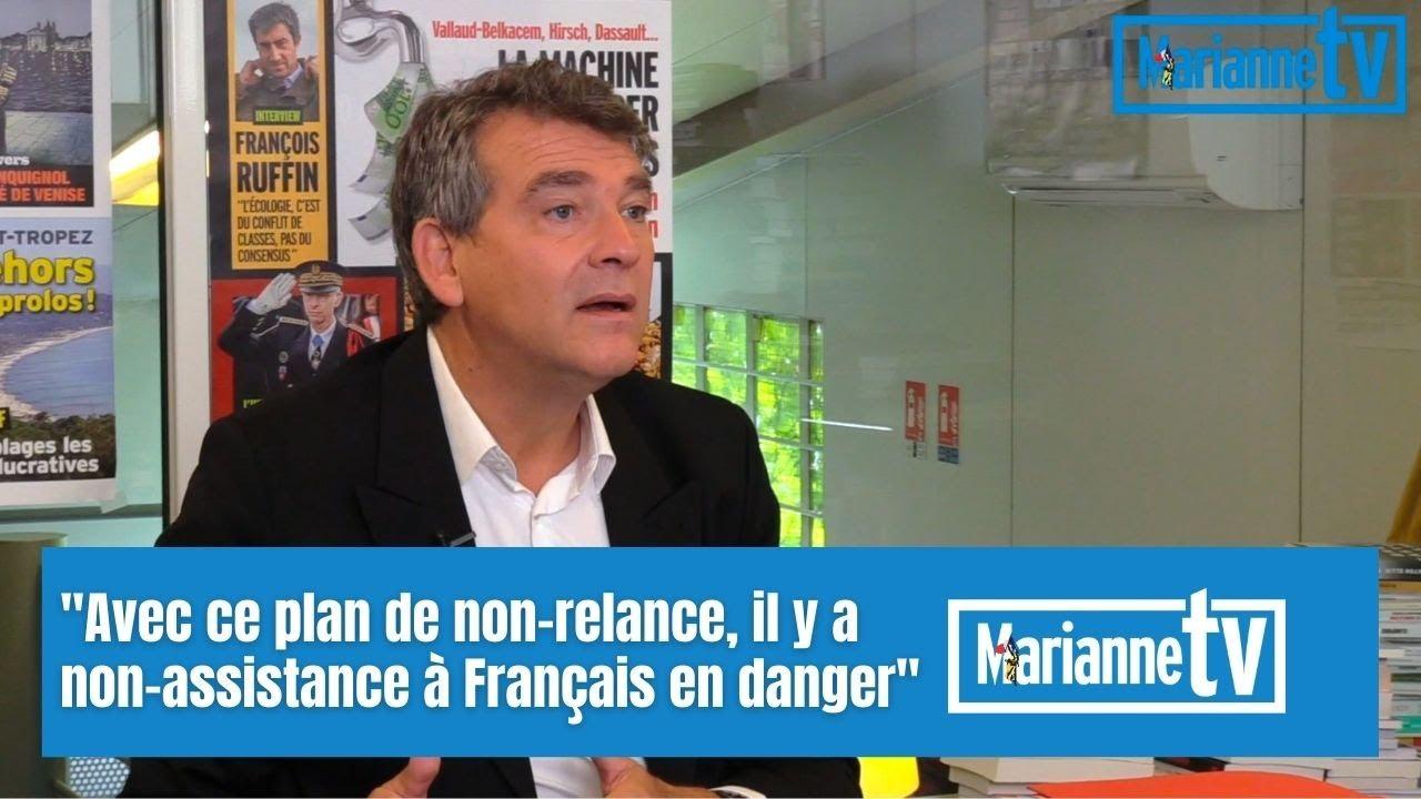 """Arnaud Montebourg : """"Avec ce plan de non-relance, il y a non-assistance à Français en danger"""""""