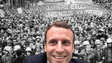 Emmanuel Macron, héritier de Mai 68
