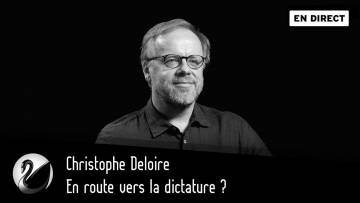 En route vers la dictature ? Christophe Deloire