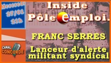 Franc Serres, militant et lanceur d'alerte