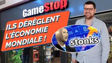 GAMESTOP : LA BOURSE S'AFFOLE ! La contre-attaque contre la finance prédatrice