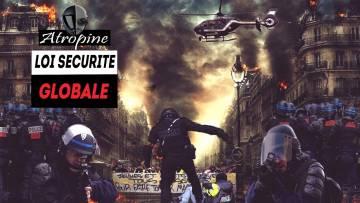 MANIFESTATION LOI SÉCURITÉ GLOBALE TOULOUSE [une voiture fauche des manifestants]