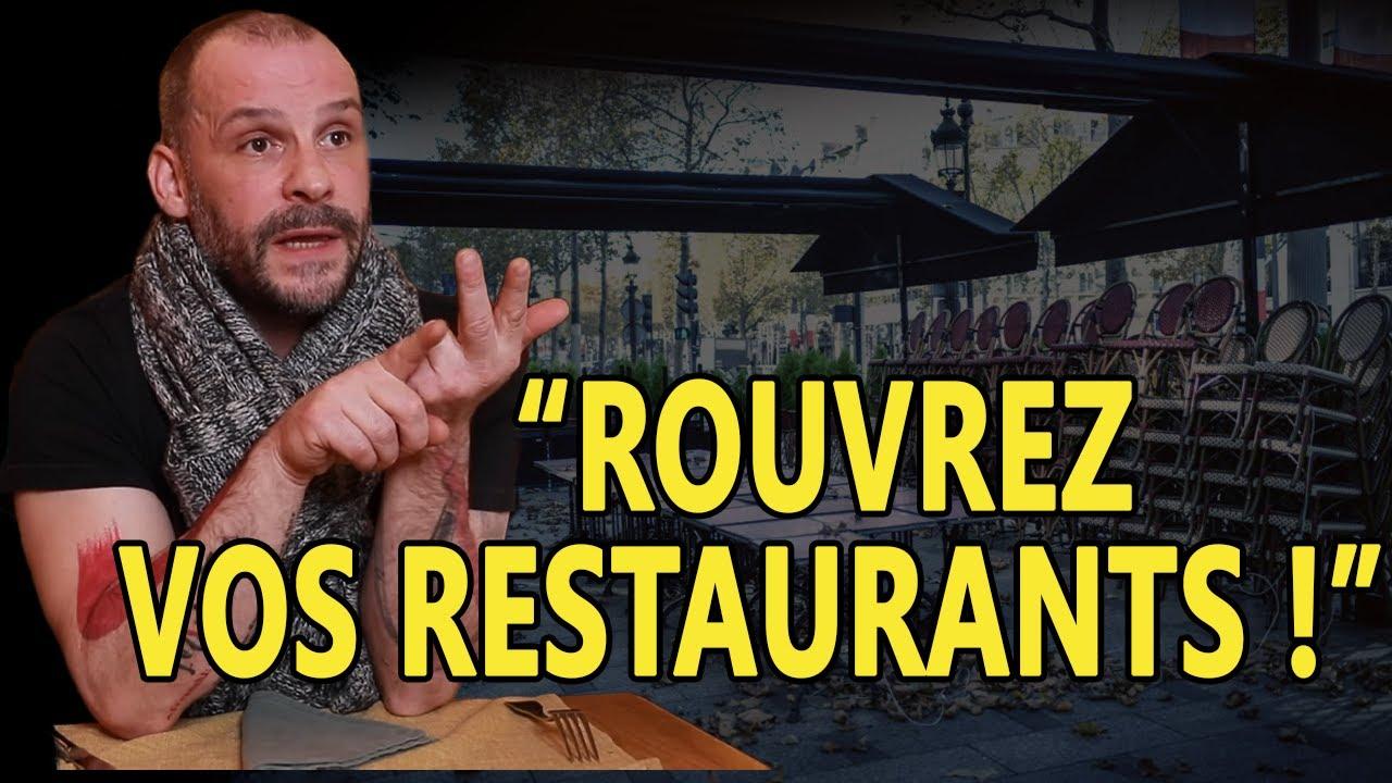 « On marche sur la tête et les décisions sont folles ! » : un restaurateur pousse un coup de gueule
