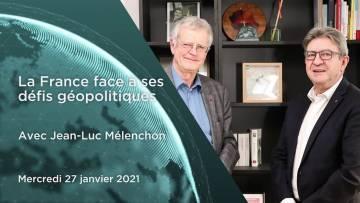 """Pascal Boniface : Jean-Luc Mélenchon – """"La France face à ses défis géopolitiques"""""""