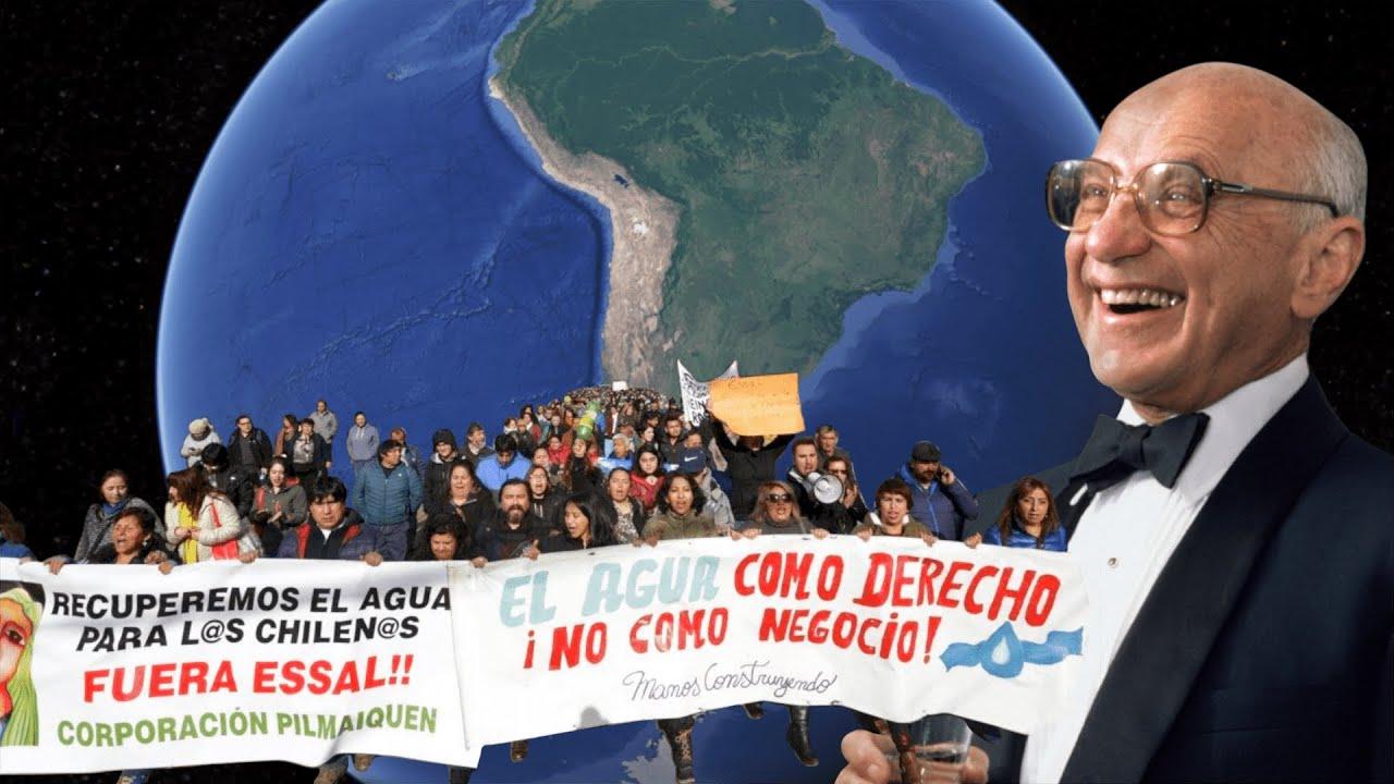 Privatisation de l'eau : résistances chiliennes