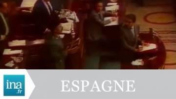 Tentative de Putsch militaire à Madrid 24/02/1981