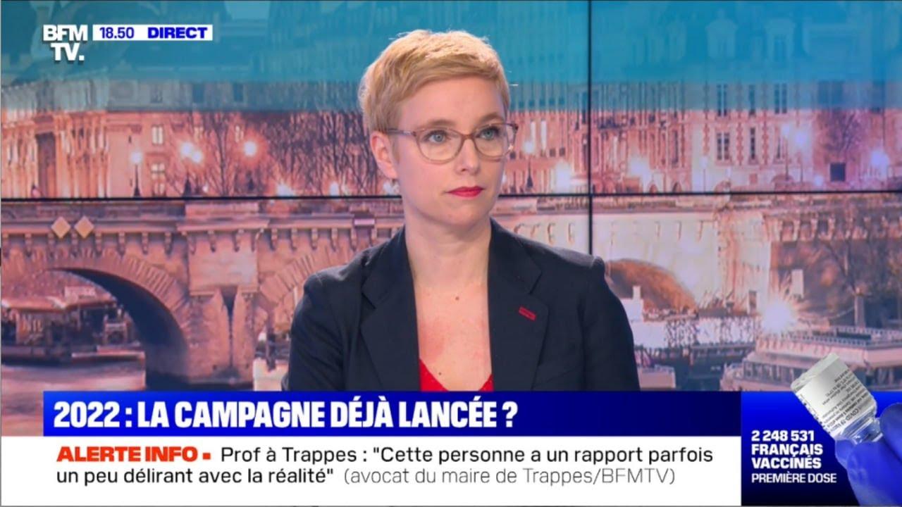 """Clémentine Autain (LFI): """"Trappes, c'est l'histoire d'une instrumentation politique."""""""