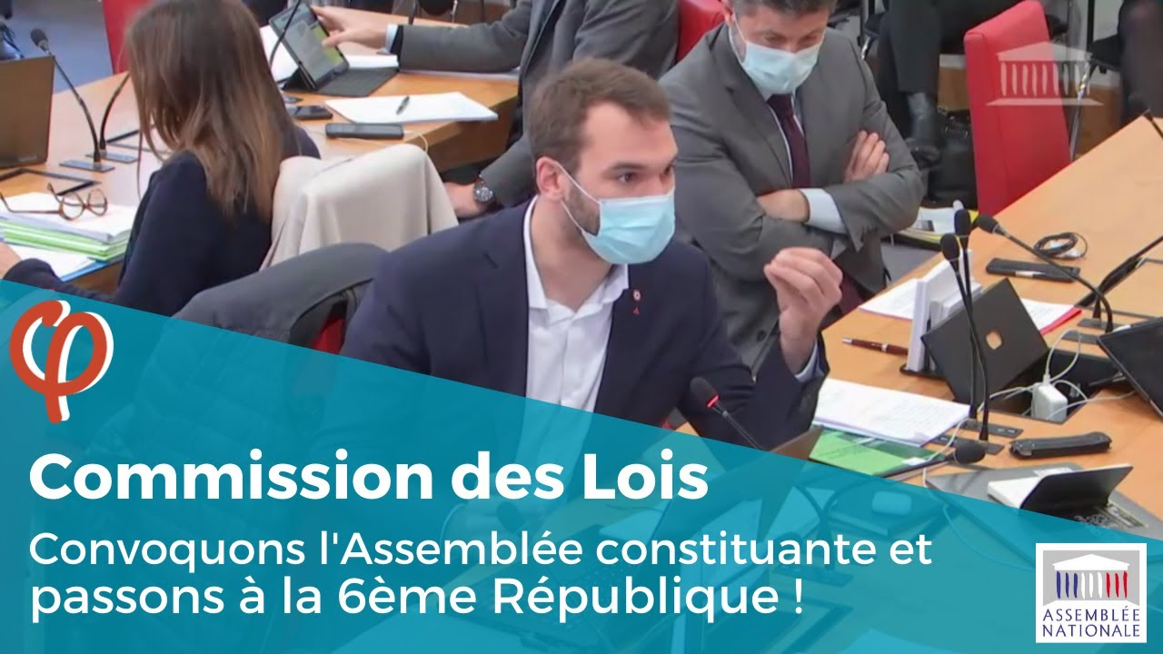 Convoquons l'Assemblée constituante et passons à la 6ème République !
