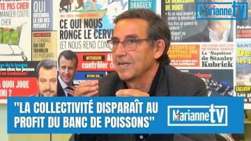 Emmanuel Todd : « La collectivité disparaît au profit du banc de poissons »