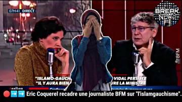 """Éric Coquerel recadre une journaliste BFM sur """" l'islamgauchisme"""""""