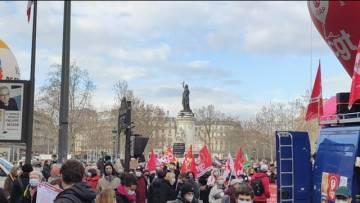Grande Grève Paris République