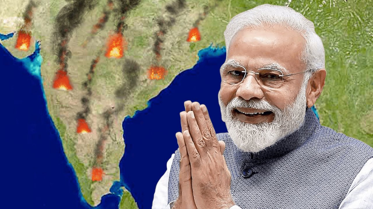 Inde : le plus grand mouvement social de l'histoire