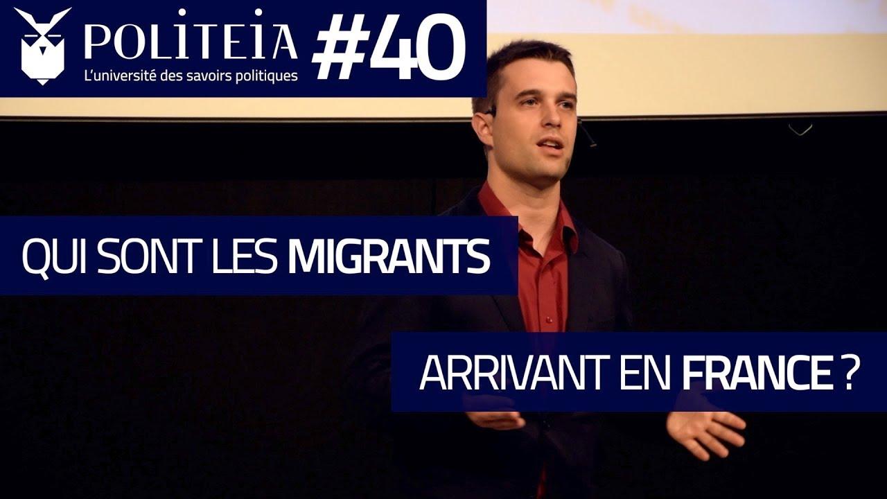 Qui sont les migrants arrivant en France ? | Antonin Durand