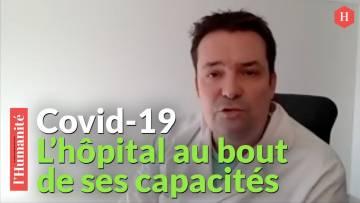 """Covid-19: """"On va devoir faire le tri des patients"""" alerte Loïc Pen, médecin urgentiste Loic Pen"""