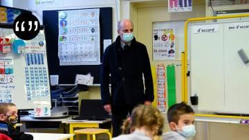 Usul. Écoles ouvertes : le pari morbide de Blanquer et Macron