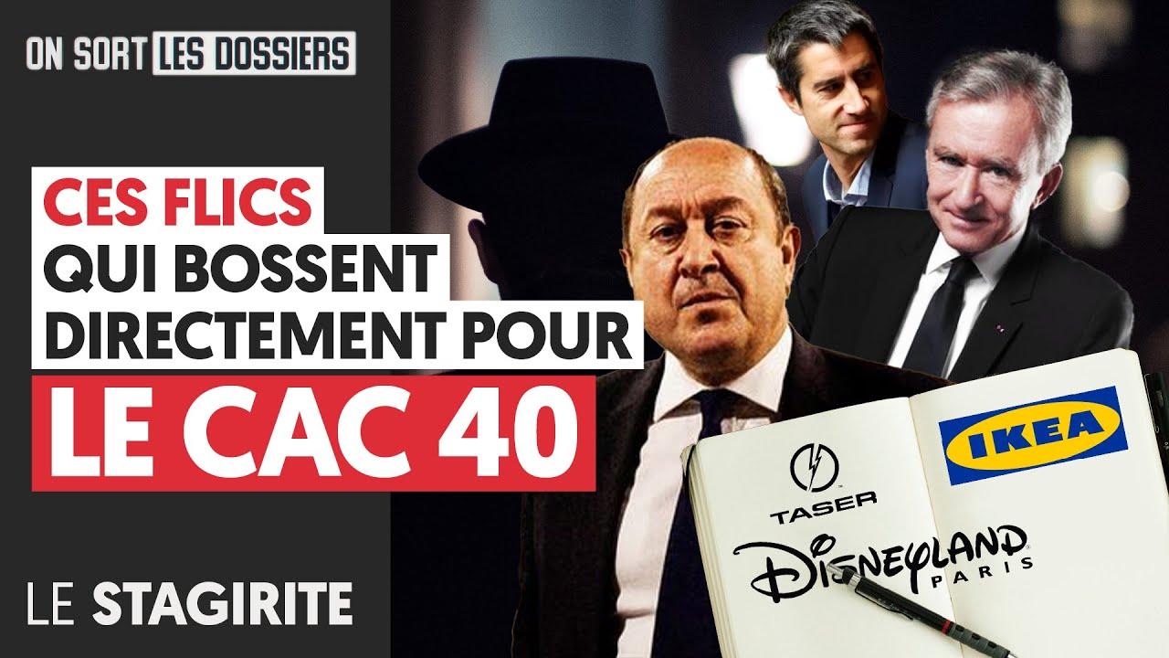 CES FLICS QUI BOSSENT DIRECTEMENT POUR LE CAC 40