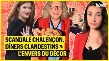 DÎNERS CLANDESTINS : L'ENVERS DU DÉCOR – round 2