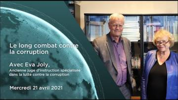 "Eva Joly – ""Le long combat contre la corruption"""