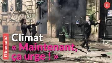 Extinction Rebellion: Opération coup de poing devant la Banque de France