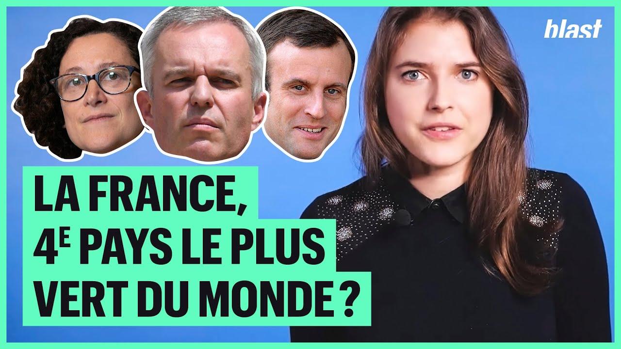 LA FRANCE, 4e PAYS LE PLUS VERT AU MONDE ? POURQUOI LA MAJORITÉ NE DEVRAIT PAS SE VANTER