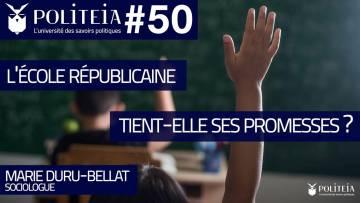 L'école républicaine tient-elle ses promesses ? | Marie Duru-Bellat