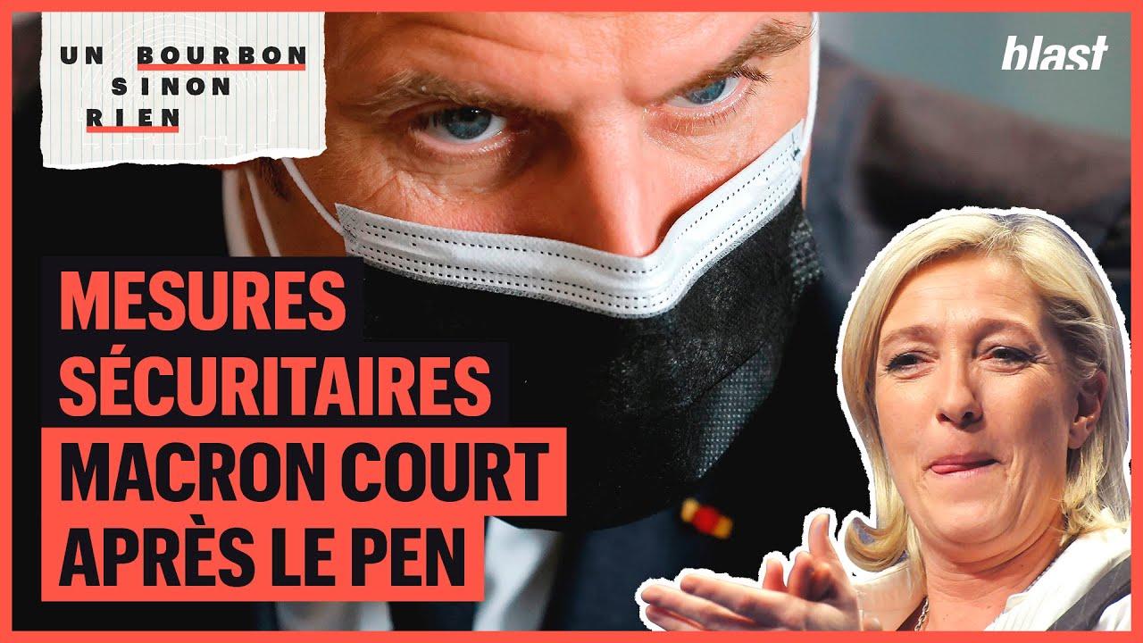 MESURES SÉCURITAIRES : MACRON COURT APRÈS LE PEN