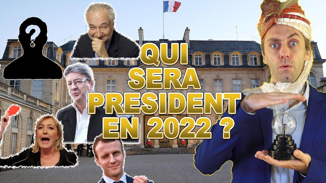 Qui sera à l'Elysée en 2022. – Pourquoi je suis con, et pas Léonard.