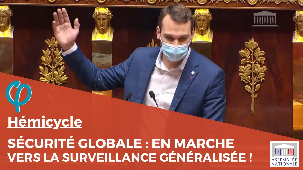 Sécurité globale : En Marche vers la surveillance de masse généralisée !