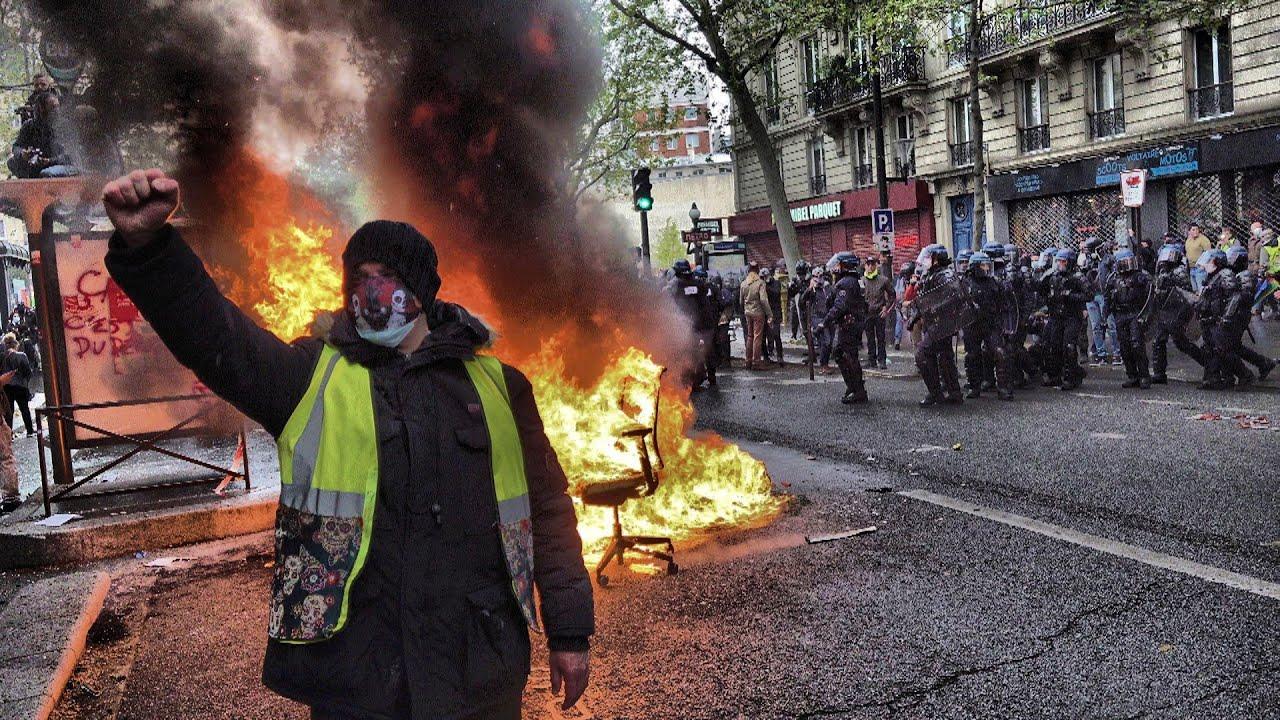 1er mai, la rage du peuple est de retour