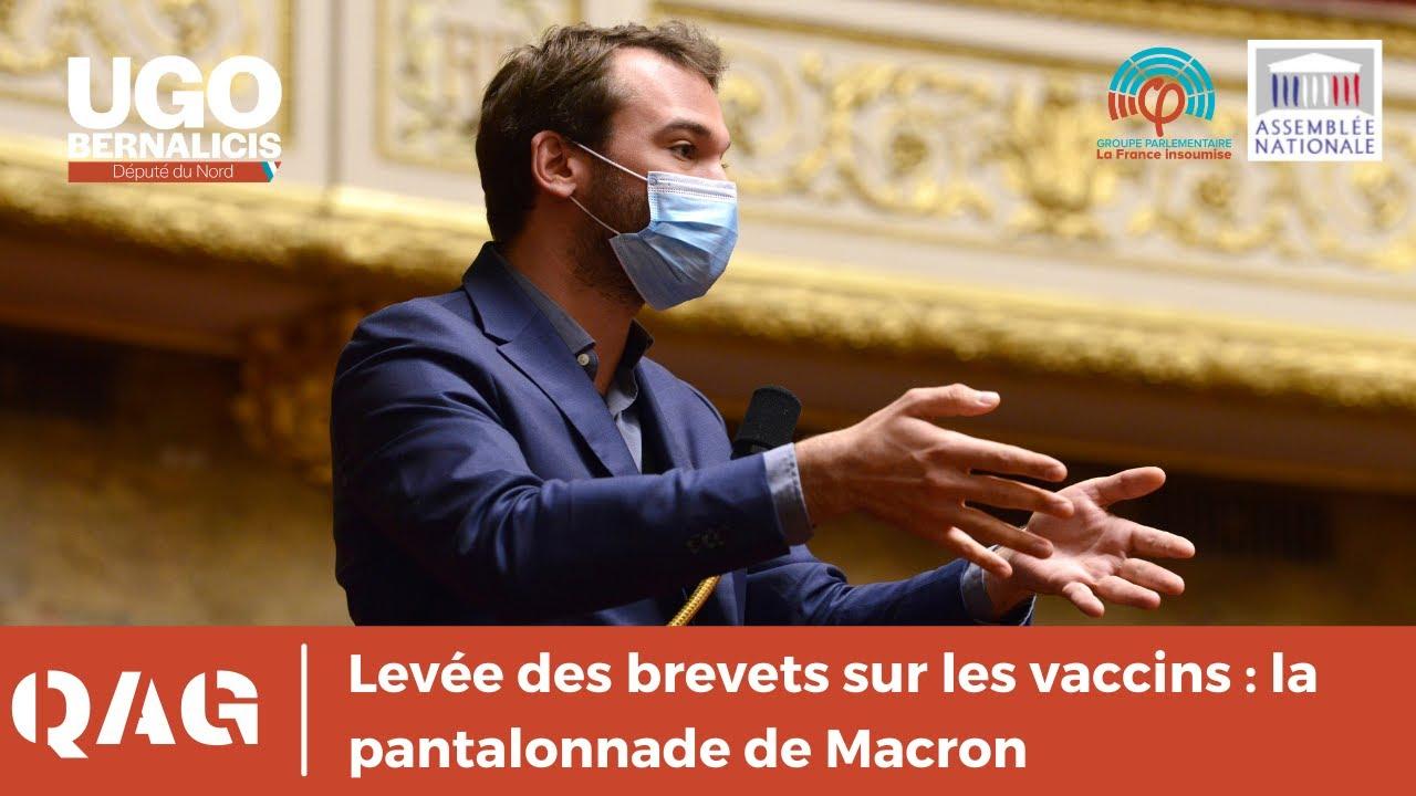 Levée des brevets sur les vaccins : la pantalonnade de Macron
