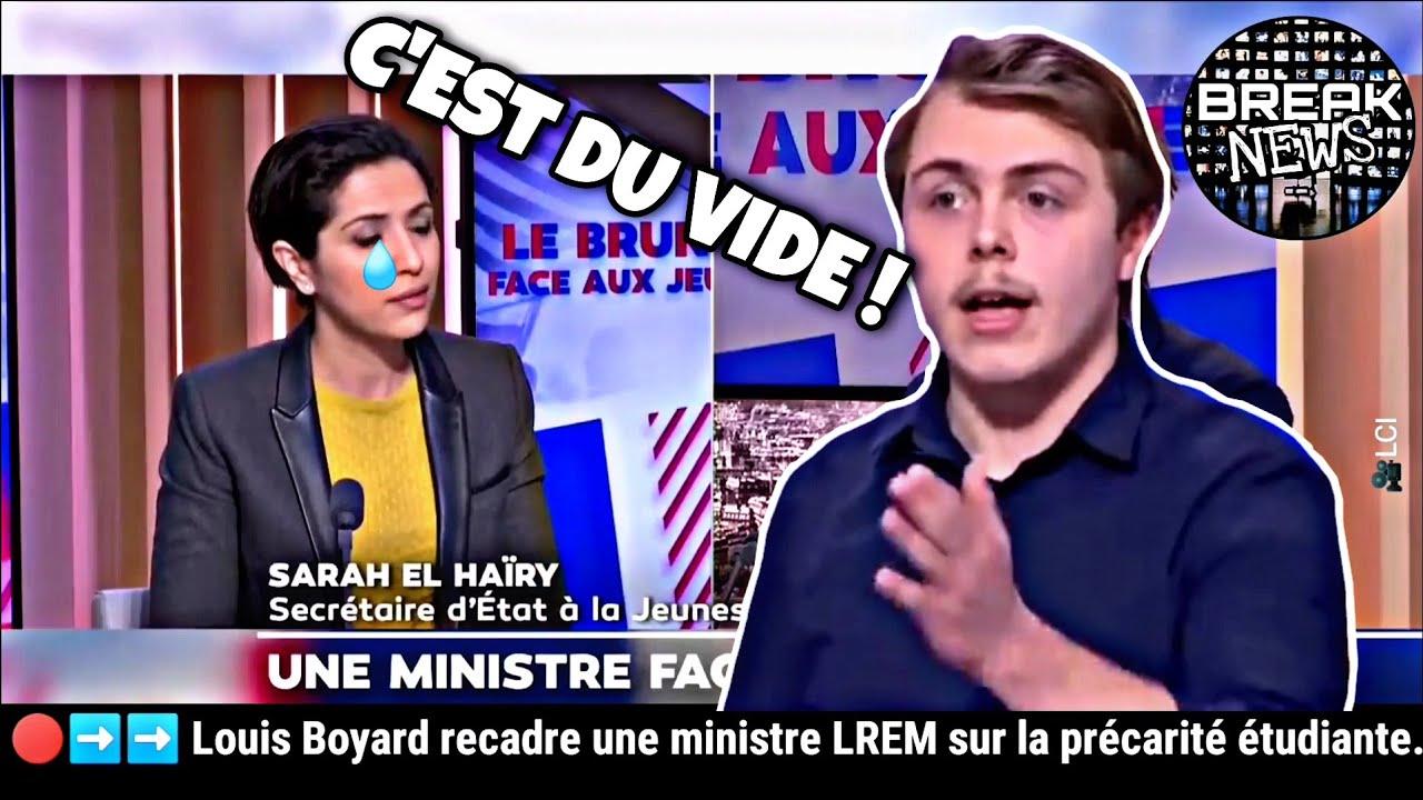 Louis Boyard recadre une ministre LREM sur la précarité étudiante