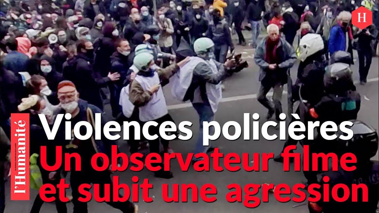 MANIFESTATION DU 1ER MAI : la police agresse un Observateur de 62 ans