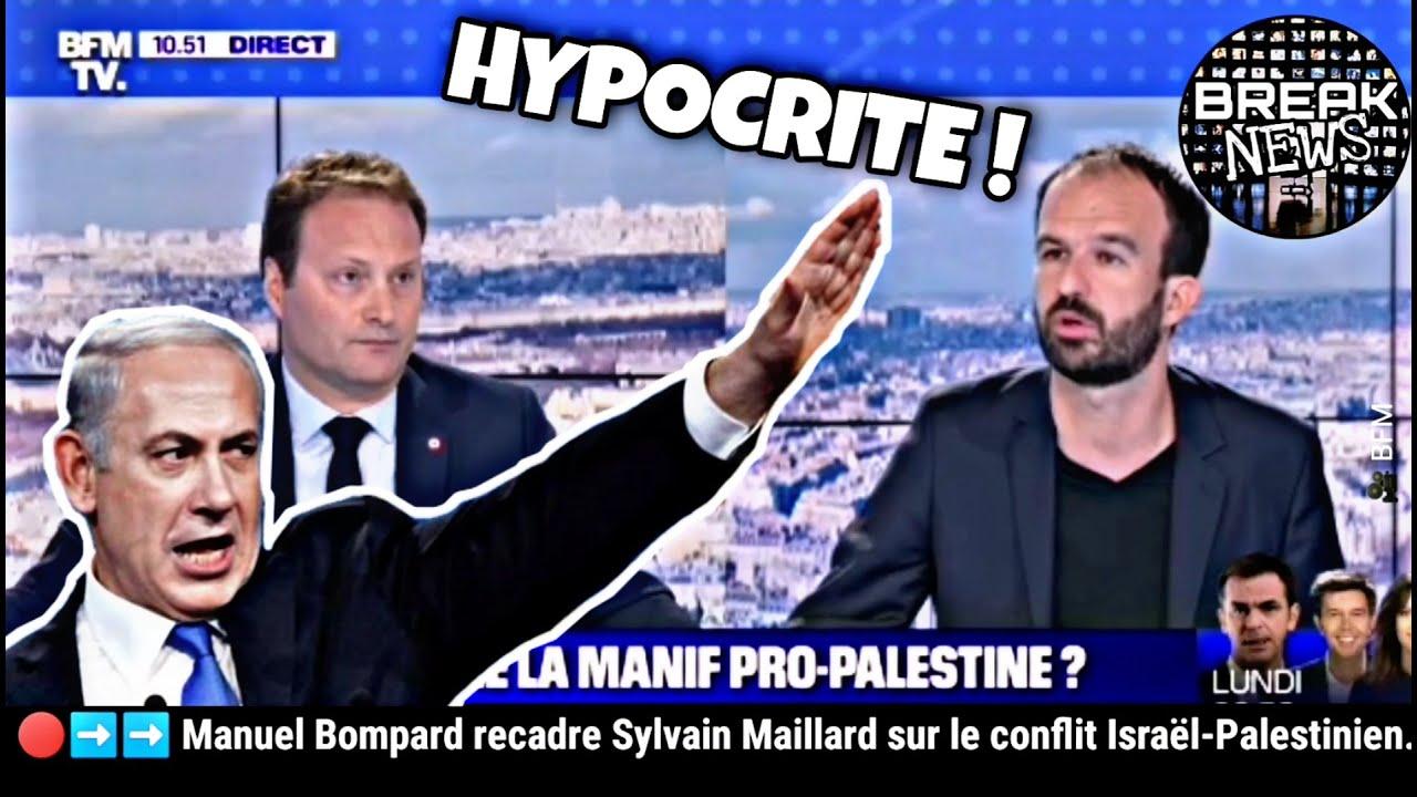 Manuel Bompard recadre Sylvain Maillard sur la Palestine