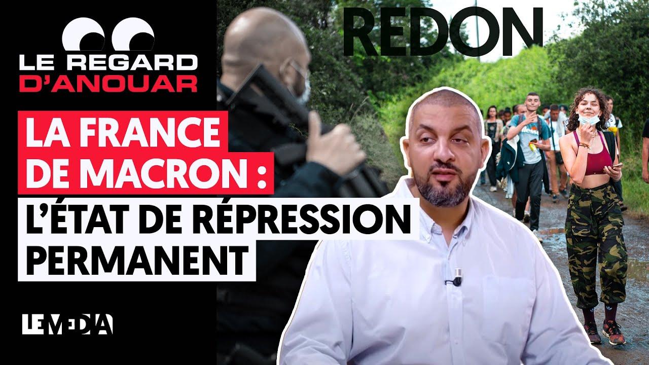 LA FRANCE DE MACRON : L'ÉTAT DE RÉPRESSION PERMANENT