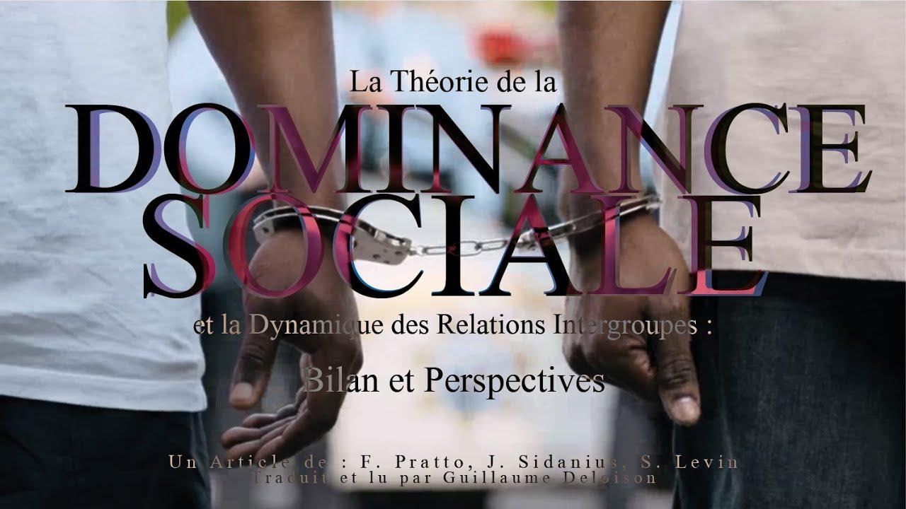La Théorie de la Dominance Sociale et la Dynamique des Relations Intergroupes: Bilan et Perspectives