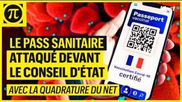 LE PASS SANITAIRE ATTAQUÉ DEVANT LE CONSEIL D'ÉTAT