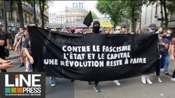 Manifestation contre les idée d'extrême droite / Paris – France 12 juin 2021