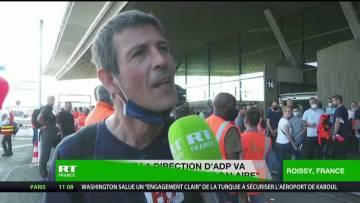 Mobilisation du personnel des aéroports parisiens