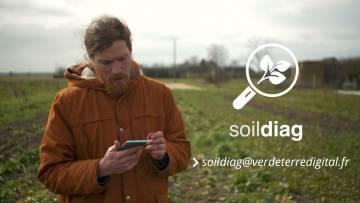Application Soildiag pour analyser son sol