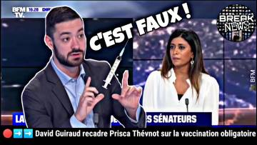David Guiraud (FI) recadre Prisca Thévnot (LREM) sur la vaccination obligatoire