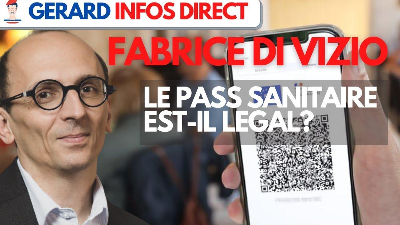 Fabrice Di Vizio : « Si Emmanuel Macron veut la guerre nous lui ferons la guerre »