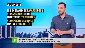 L'inavouable accord entre Lafarge et Daesh