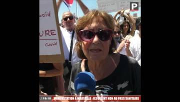 Manifestation à Marseille : ils disent non au pass sanitaire