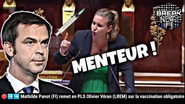 Mathilde Panot (FI) remet en PLS Olivier Véran sur la vaccination obligatoire
