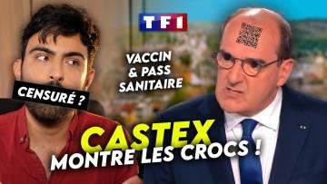 PASS SANITAIRE : Castex méprise et menace les oppositions !