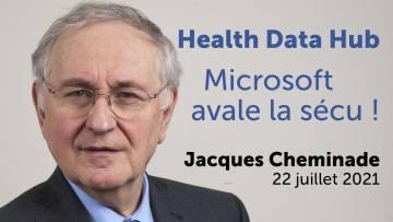 Pass sanitaire, Health Data Hub : Microsoft récolte vos données – Jacques Cheminade