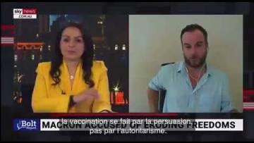 "Skynews : ""Macron est devenu fou !"""