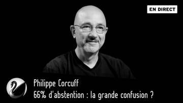 66% d'abstention : la grande confusion ? Philippe Corcuff